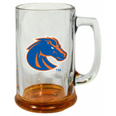 Boise State Broncos 15 oz Highlight Decal Glass Stein