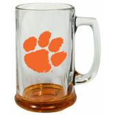 Clemson Tigers 15 oz Highlight Decal Glass Stein