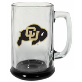 Colorado Buffaloes 15 oz Highlight Decal Glass Stein