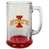 Iowa State Cyclones 15 oz Highlight Decal Glass Stein