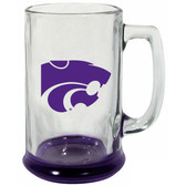 Kansas State Wildcats 15 oz Highlight Decal Glass Stein