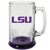 LSU Tigers 15 oz Highlight Decal Glass Stein