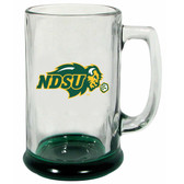 North Dakota State Bison 15 oz Highlight Decal Glass Stein