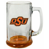 Oklahoma State Cowboys 15 oz Highlight Decal Glass Stein