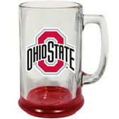 Ohio State Buckeyes 15 oz Highlight Decal Glass Stein