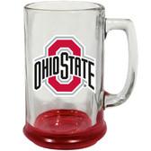 Ohio State Buckeyes 15 oz Highlight Decal Glass Stein