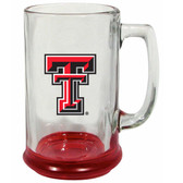 Texas Tech Red Raiders 15 oz Highlight Decal Glass Stein