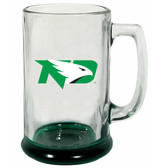 North Dakota Sioux 15 oz Highlight Decal Glass Stein