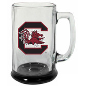 South Carolina Gamecocks 15 oz Highlight Decal Glass Stein