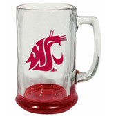 Washington State Cougars 15 oz Highlight Decal Glass Stein