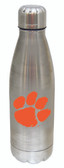 Clemson Tigers 17 oz Stainless Steel Water Bottle