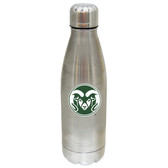 Colorado State Rams 17 oz Stainless Steel Water Bottle