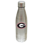 Georgia Bulldogs 17 oz Stainless Steel Water Bottle
