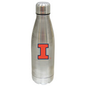 Illinois Fighting Illini 17 oz Stainless Steel Water Bottle