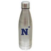 Navy Midshipmen 17 oz Stainless Steel Water Bottle Navy