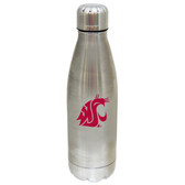 Washington State Cougars 17 oz Stainless Steel Water Bottle