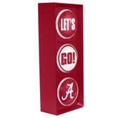 Alabama Crimson Tide Color Lets Go Light