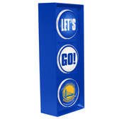 Golden State Warriors Color Lets Go Light