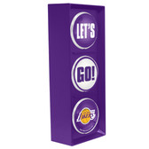 Los Angeles Lakers Color Lets Go Light