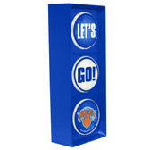 New York Knicks Color Lets Go Light