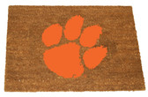 Clemson Tigers Colored Logo Door Mat