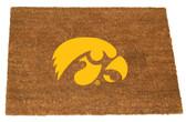 Iowa Hawkeyes Colored Logo Door Mat