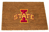 Iowa State Cyclones Colored Logo Door Mat