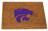Kansas State Wildcats Colored Logo Door Mat