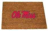 Ole Miss Rebels Colored Logo Door Mat