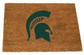 Michigan State Spartans Colored Logo Door Mat