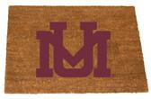 Montana Grizzlies Colored Logo Door Mat