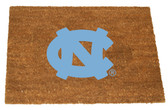 North Carolina Tar Heels Colored Logo Door Mat