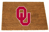 Oklahoma Sooners Colored Logo Door Mat