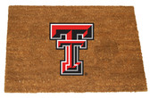 Texas Tech Red Raiders Colored Logo Door Mat