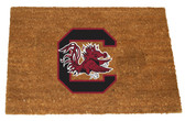 South Carolina Gamecocks Colored Logo Door Mat