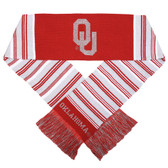 Oklahoma Sooners Glitter Stripe Scarf