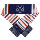 Auburn Tigers Glitter Stripe Scarf