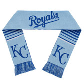 Kansas City Royals Scarf - Reversible Stripe