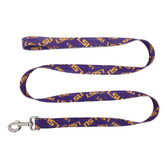 LSU Tigers Pet Leash 1x60
