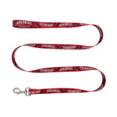 Arkansas Razorbacks Pet Leash 1x60
