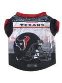 Houston Texans Pet Performance Tee Shirt Size M