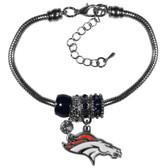 Denver Broncos Bracelet - Euro Bead