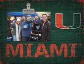 Miami Hurricanes Clip Frame