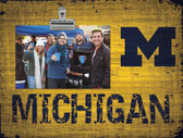 Michigan Wolverines Clip Frame
