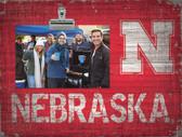 Nebraska Cornhuskers Clip Frame
