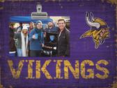 Minnesota Vikings Clip Frame