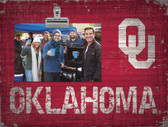 Oklahoma Sooners Clip Frame