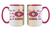 Alabama Crimson Tide 15oz Mom Mug