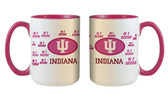 Indiana Hoosiers 15oz Mom Mug