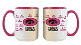 Iowa Hawkeyes 15oz Mom Mug